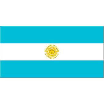 Argentinia Flag 5ft x 3ft With Eyelets For Hanging
