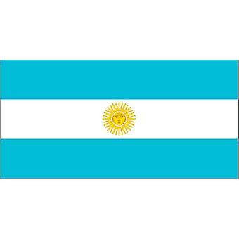Argentinien Flagge 5 ft x 3 ft mit Ösen zum Aufhängen