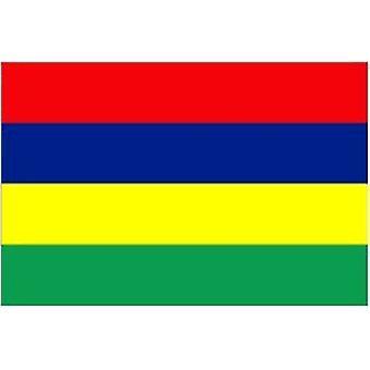 Mauritius flagg 5 ft x 3 ft med hull For hengende