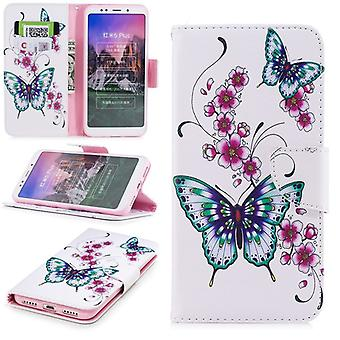 For Samsung Galaxy A6 A600 2018 synthetic leather pocket book motif 31 protection sleeve case cover pouch new