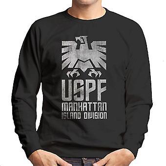 Escape From New York USPF Manhattan Logo Herren Sweatshirt