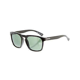 Von Zipper Battlestations Black-Gold Glo Banner Sunglasses