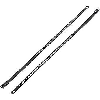 Cable tie 255 mm Black Coated KSS ASTN-255
