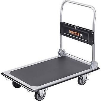 Flatbed trolley folding, + compartment Steel Load capacity (max.): 300 kg Meister Werkzeuge 8985540