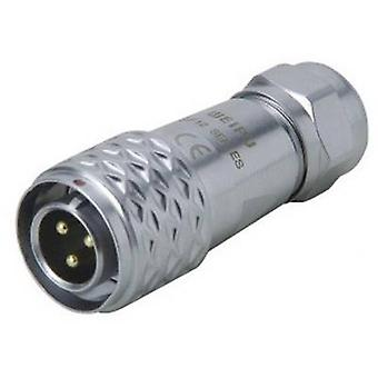 Weipu SF1210/P2 I Bullet connector Plug, straight Series (connectors): SF12 Total number of pins: 2 1 pc(s)