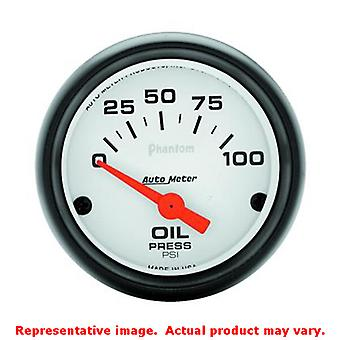 Auto Meter Phantom Gauge 5727 2-1/16in Range: 0-100psi Fits:UNIVERSAL 0 - 0 NO
