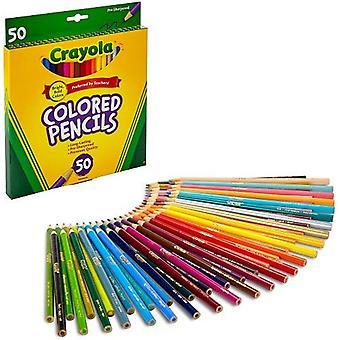 Crayola Colored Pencils-50/Pkg Long