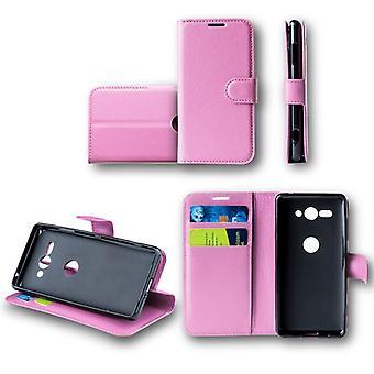 For Huawei kompis 20 ordrett lomme lommebok premie rosa Schutz ermet coveret pose nytt tilbehør