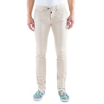 Time zone men's Chino pants slim Lulu beige