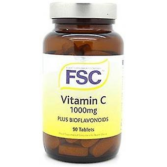FSC Vitamin C 1000mg Plus Bioflavonoids ,  90 Tablets