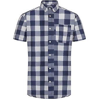 Jack & Jones Boise Slim Fit Short Sleeve Checked Shirt