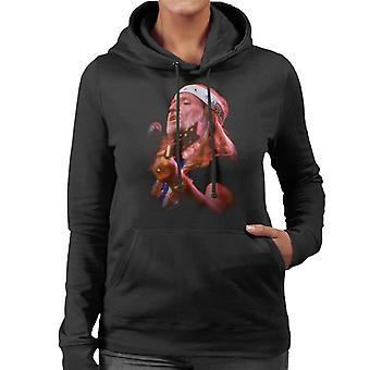 TV Zeiten Willie Nelson Live Damen Sweatshirt mit Kapuze