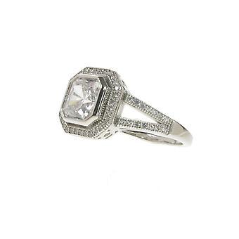 Cavendish francés diamantes son para siempre anillo