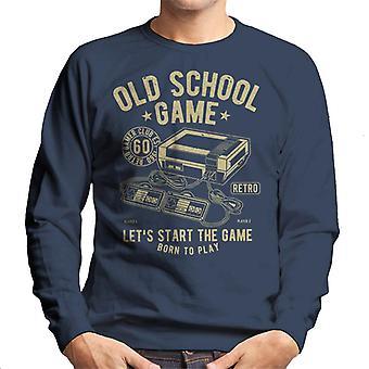 Gamle skolen spill spill konsoll menn Sweatshirt