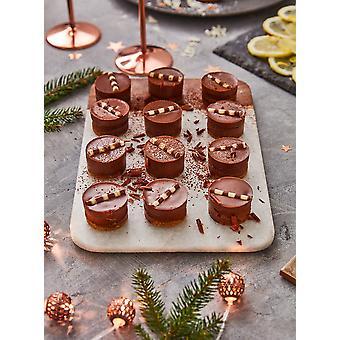 Prestige eingefroren Mini belgische Schokolade-Käsekuchen