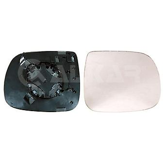 Right Driver Side Mirror Glass (heated) & Holder for AUDI Q5 2008-2016