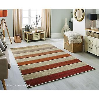 Portland Wide Stripes Beige Rug