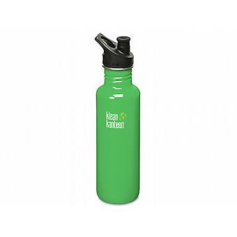 Klean Kanteen Classic 800ml Water Bottle with Sport Cap