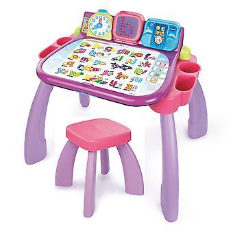 Meine magischen Schreibtisch 3 in 1-rosa