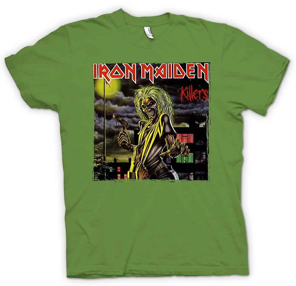 Mens T-shirt - Iron Maiden - Killers-Album-Cover