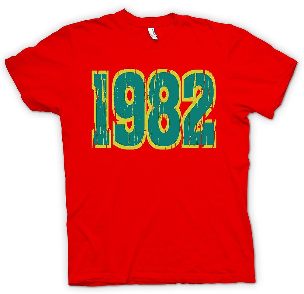 Hommes T-shirt - 1982 - Quote