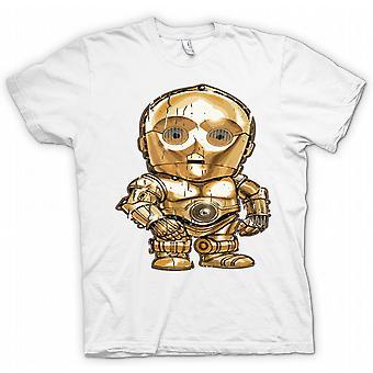 Cute Baby Chibi C3PO - Cool T-Shirt Star Wars inspiriert