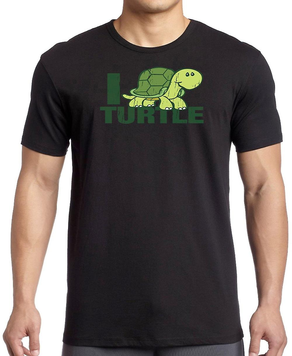 I Love Turtle - Cool T Shirt