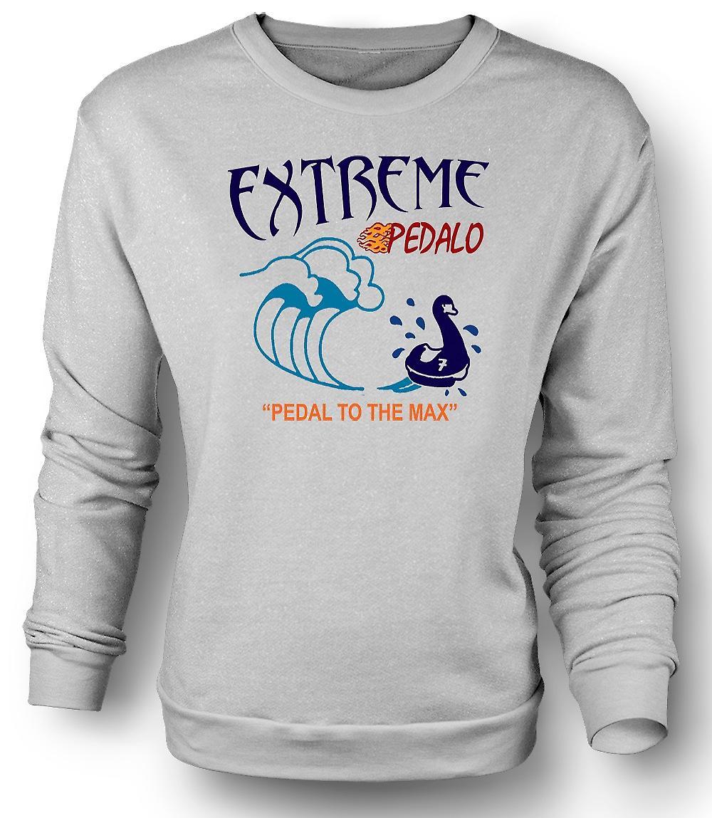 Mens Sweatshirt Extreme Pedelo - Funny