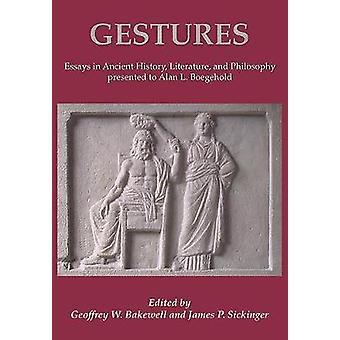 Gebaren - Essays in geschiedenis - literatuur- en filosofie pre