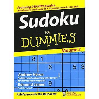 Sudoku For Dummies: Volume 2