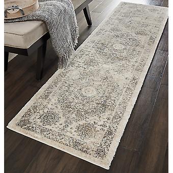 Fusión Nourison FSS11 rectángulo gris crema alfombras alfombras tradicionales