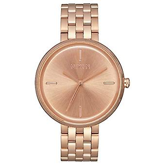 Nixon women's Quartz analogue watch with stainless steel band A1171-897-00