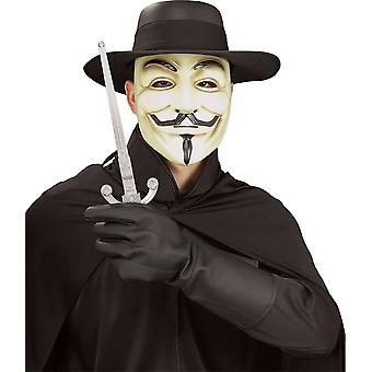 V For Vendetta hansker