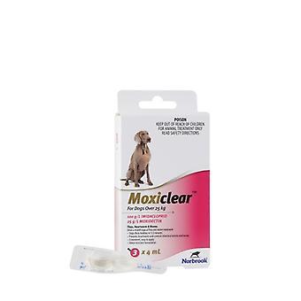 Cane MOXICLEAR > 25kg 3pk rosa