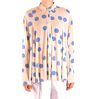 Alysi Beige Viskose Shirt