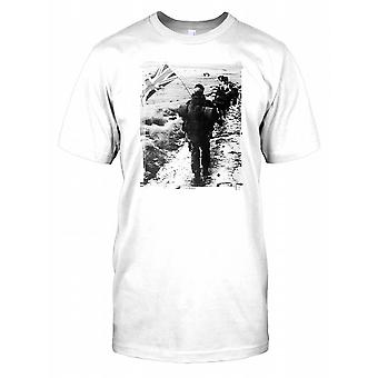 Royal Marines Yomp in The Falklands Kids T Shirt