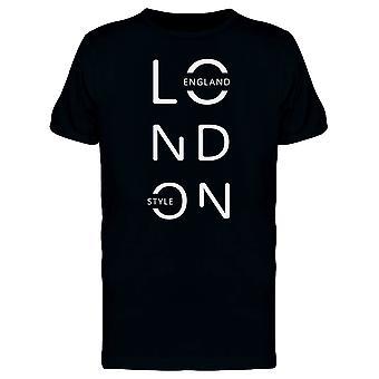 London Style Tee Men's -Image by Shutterstock