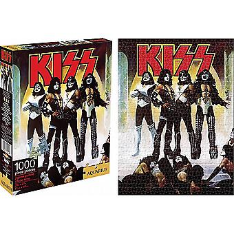 Kiss Love Gun 1000 stuk puzzel (nm)