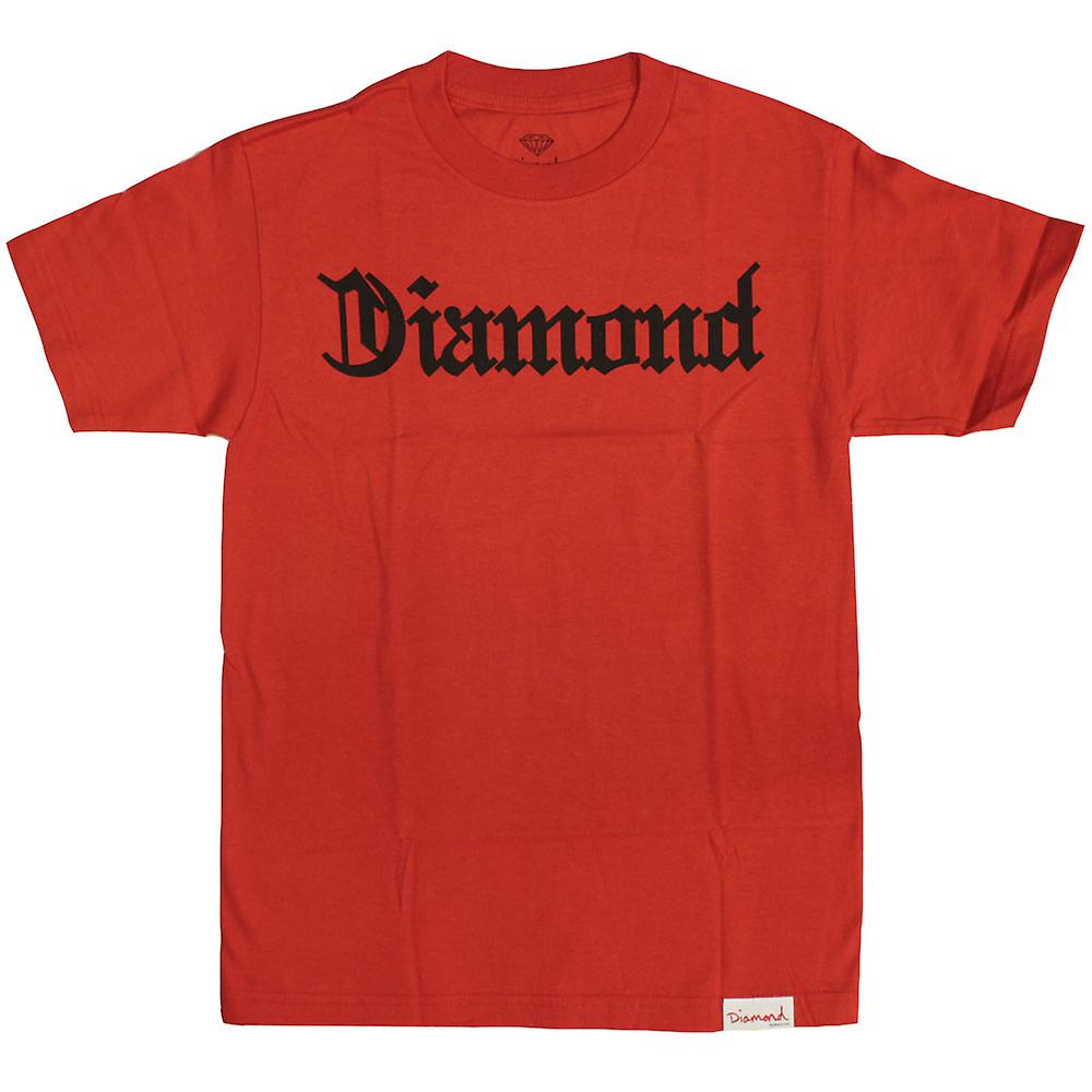 Diamond Supply Co Diamond 4 Life T-shirt Red