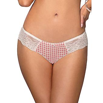 Vena VF-364 Women's Apricot Pink Lace Hipster