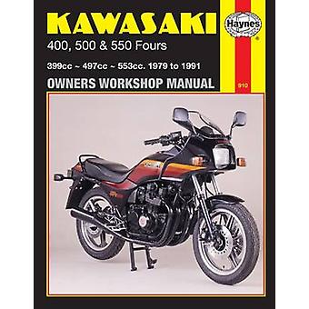 Kawasaki 400 - 500 and 550 Fours 1979-88 Owner's Workshop Manual (Rev