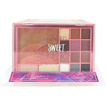 Sunkissed Sweet Sunrise Ultimate Face Palette Gift Set 15 Pieces