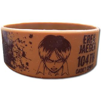 Wristband - Attack on Titan - New Eren 104th Cadet Corps Toys Licensed ge54056
