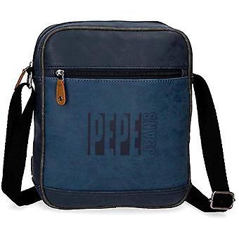 Tablet Shoulder Bag Pepe Jeans Max Blue