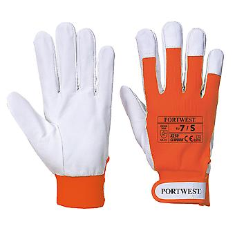 Portwest Tergsus Leather Work Gloves