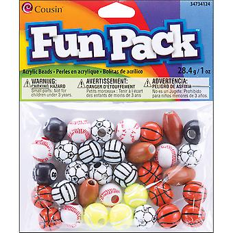 Fun Pack Sport Bead Mix? Mm? Pkg? Sport 34734124