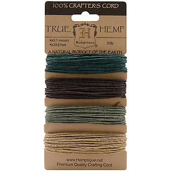 Hemp Cord 20# 30 Feet Pkg Camo Hc20 Soc