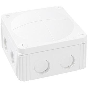 Junction box (L x W x H) 110 x 110 x 66 mm Wiska 10060533 White