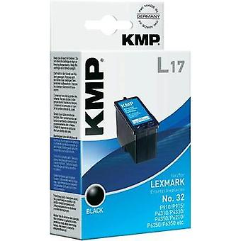 KMP Ink replaced Lexmark 32 Compatible Black