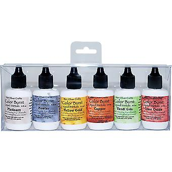 Ken Oliver Color Burst Liquid Metal Assortment-Heavy Metals KNCLMA-6613